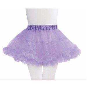 Lavendar Tulle Kids Petticoat Size M/L NEW NWT